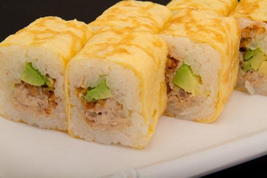 cara membuat sushi telur
