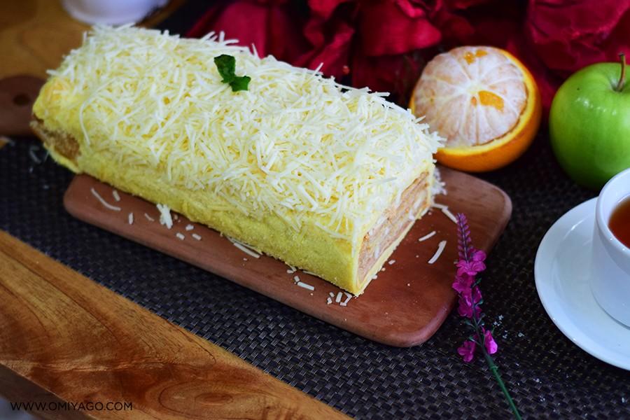 resep napoleon cake keju