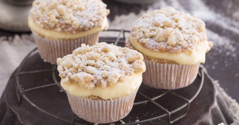 Membuat Cupcake Apfel Streusel