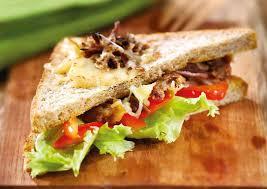 cara membuat sandwich daging