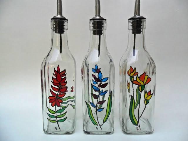 Kerajinan Botol Kaca Yang Bagus Dan Bermanfaat