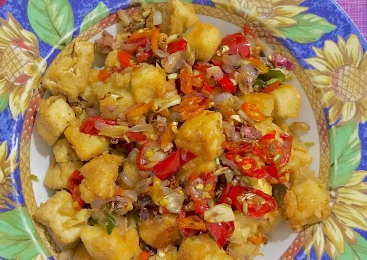 Resep Tahu Crispy Sambal Matah
