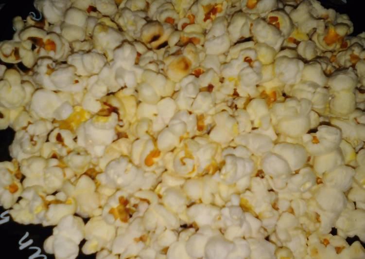 Resep popcorn manis