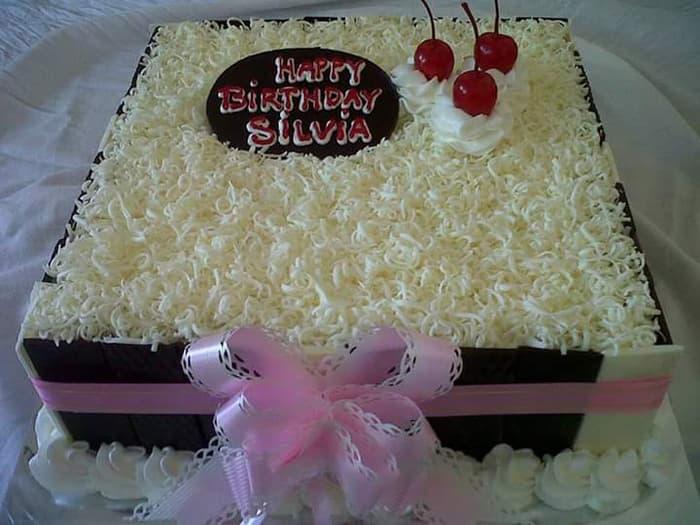 resep kue ulang tahun keju