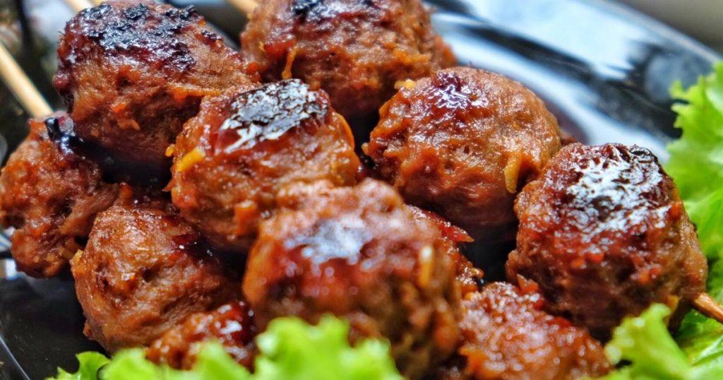 resep bakso tusuk ayam untuk jualan
