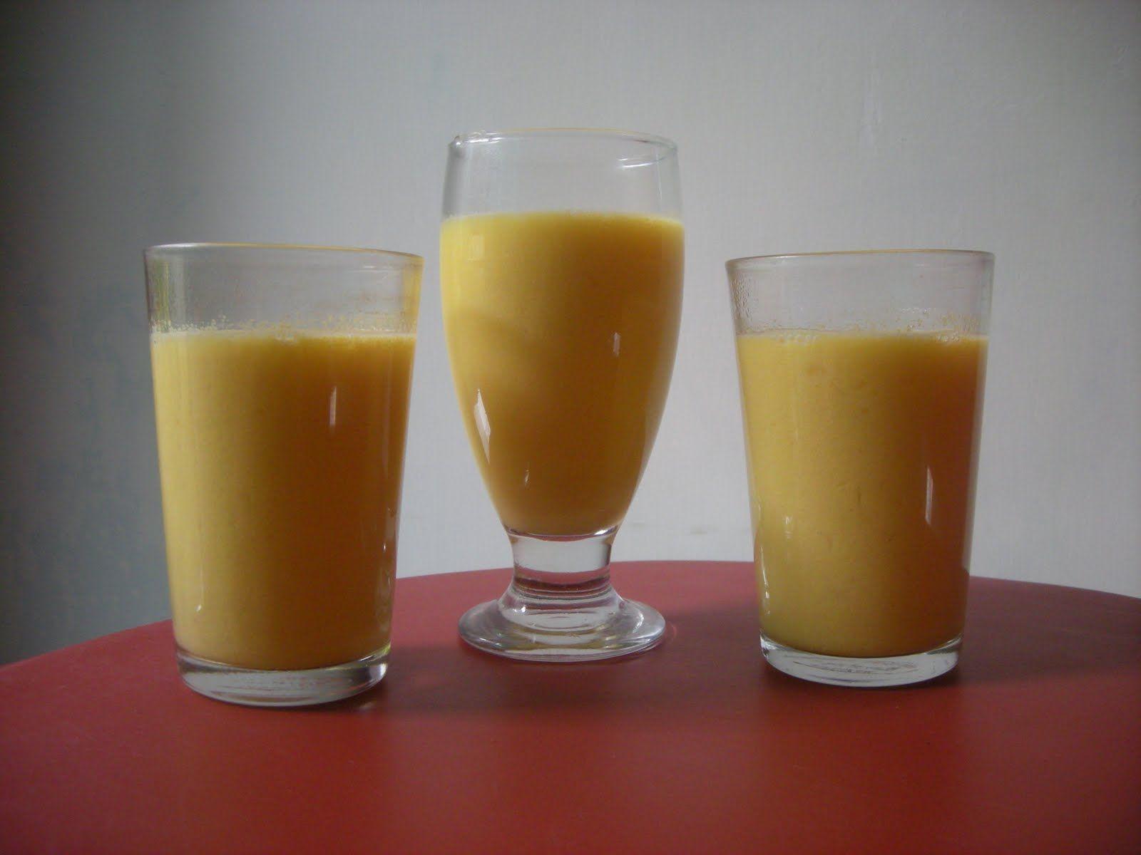 cara membuat jus jagung keju