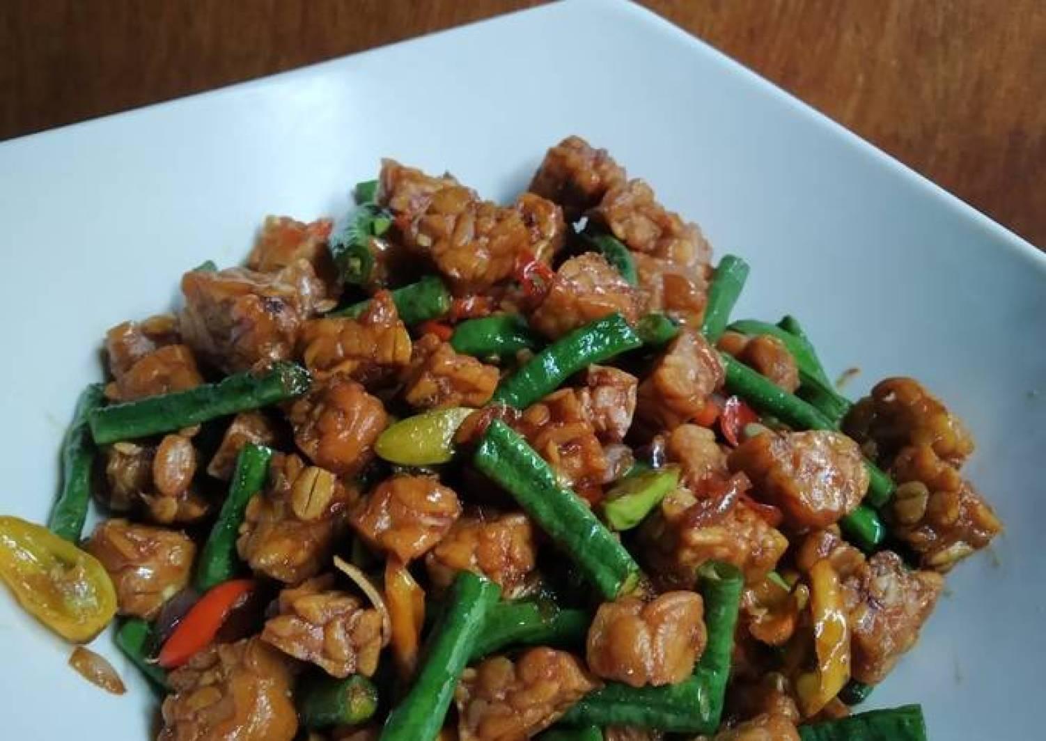 Resep Masak Kacang Panjang Dan Tempe