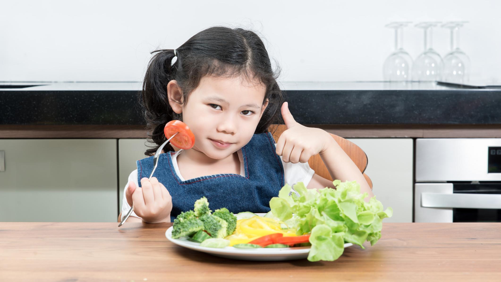 Beberapa sayuran yang mengandung vitamin e
