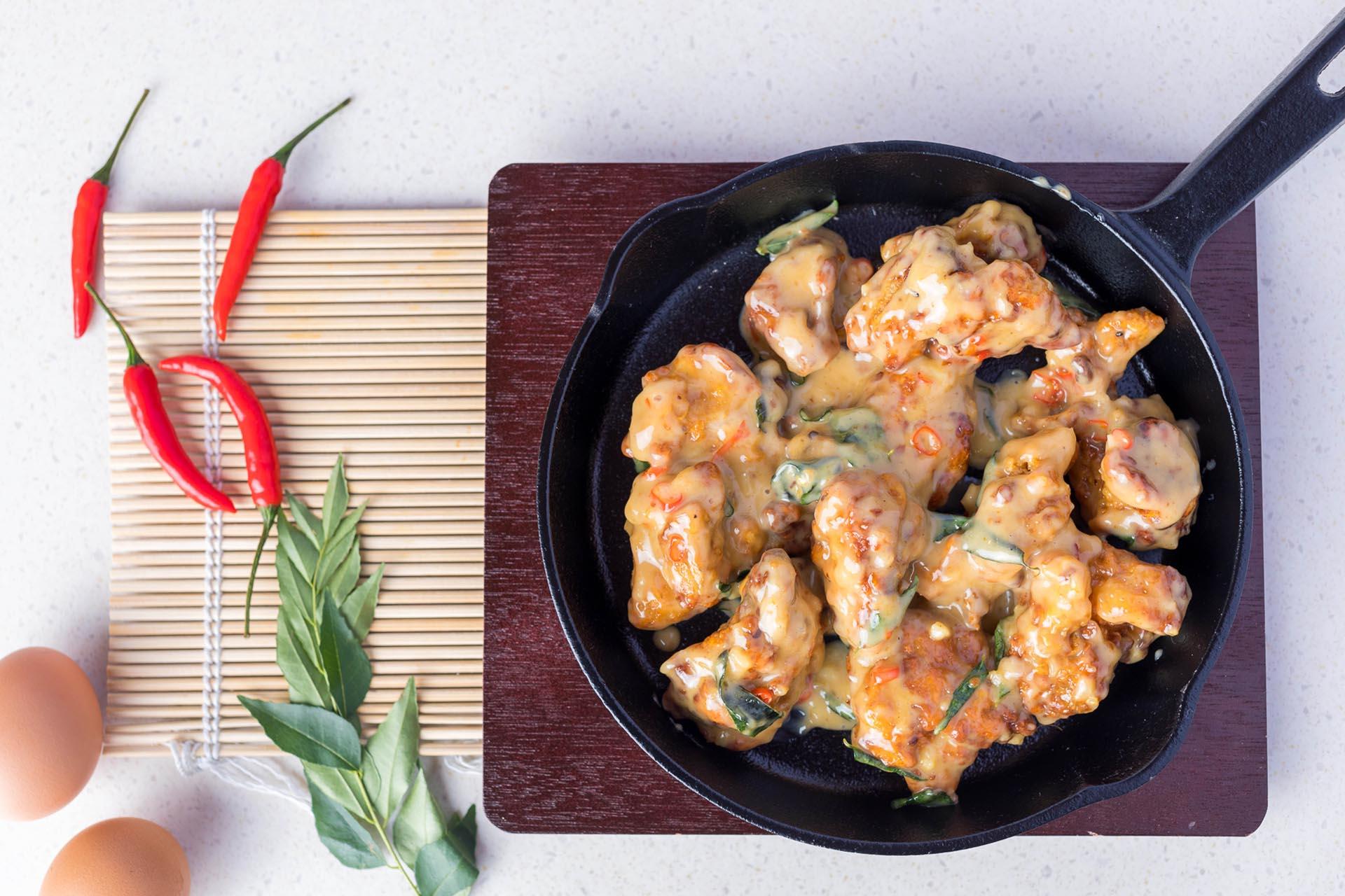 Cara Masak Ayam Goreng Mentega Dengan Susu