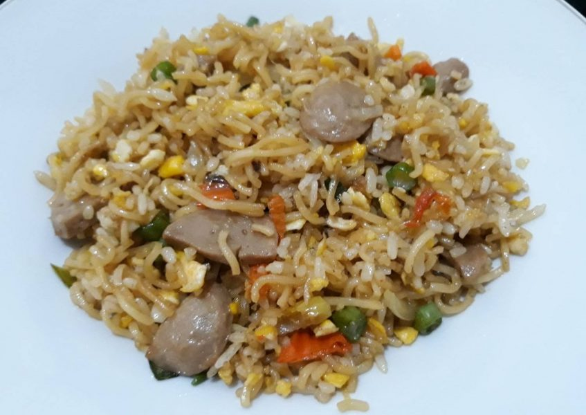 cara bikin nasi goreng mawut
