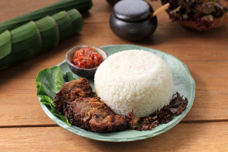empal daging penyet